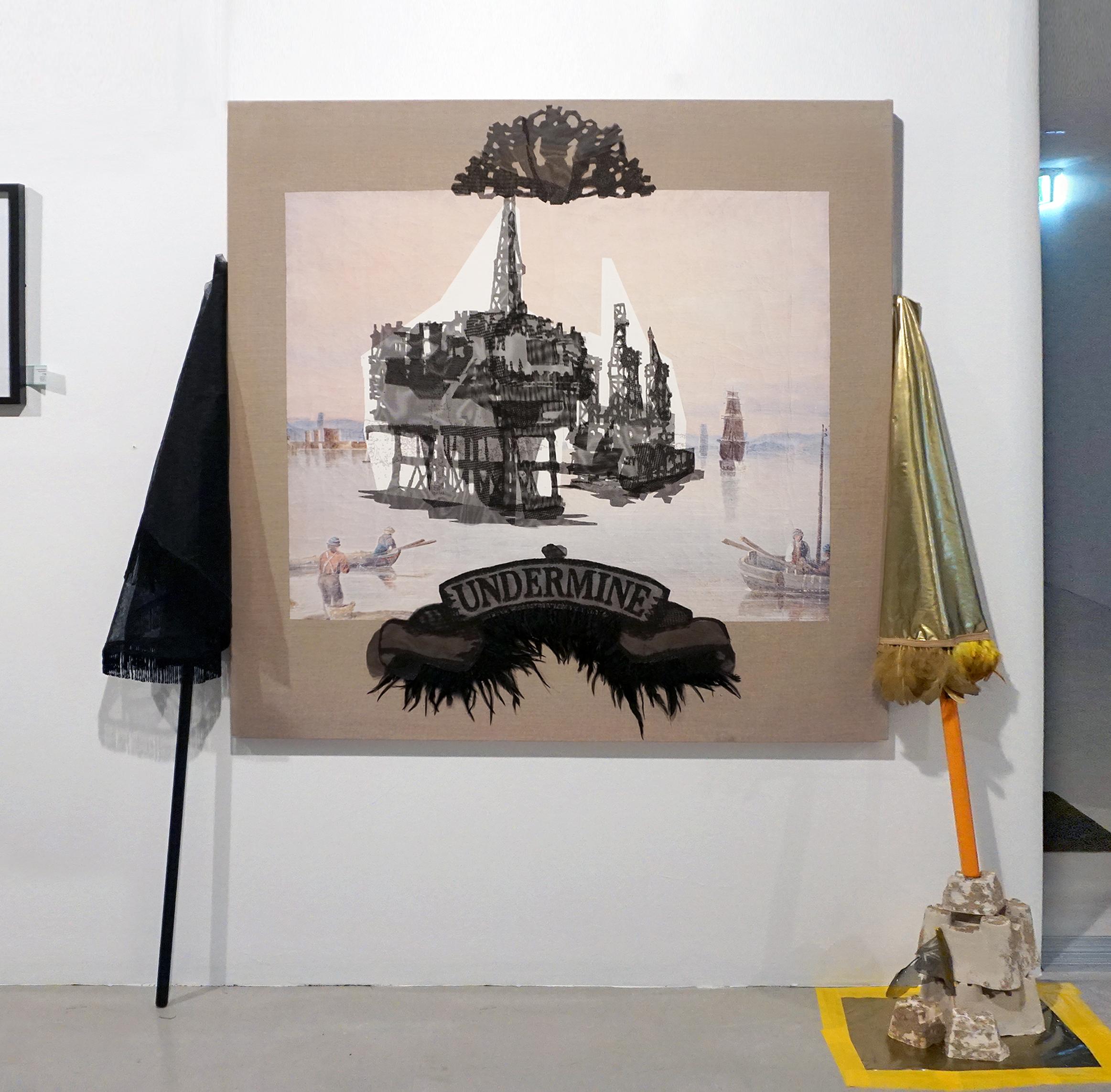 New work, finalist Fishers Ghost Award, Campbelltown Gallery