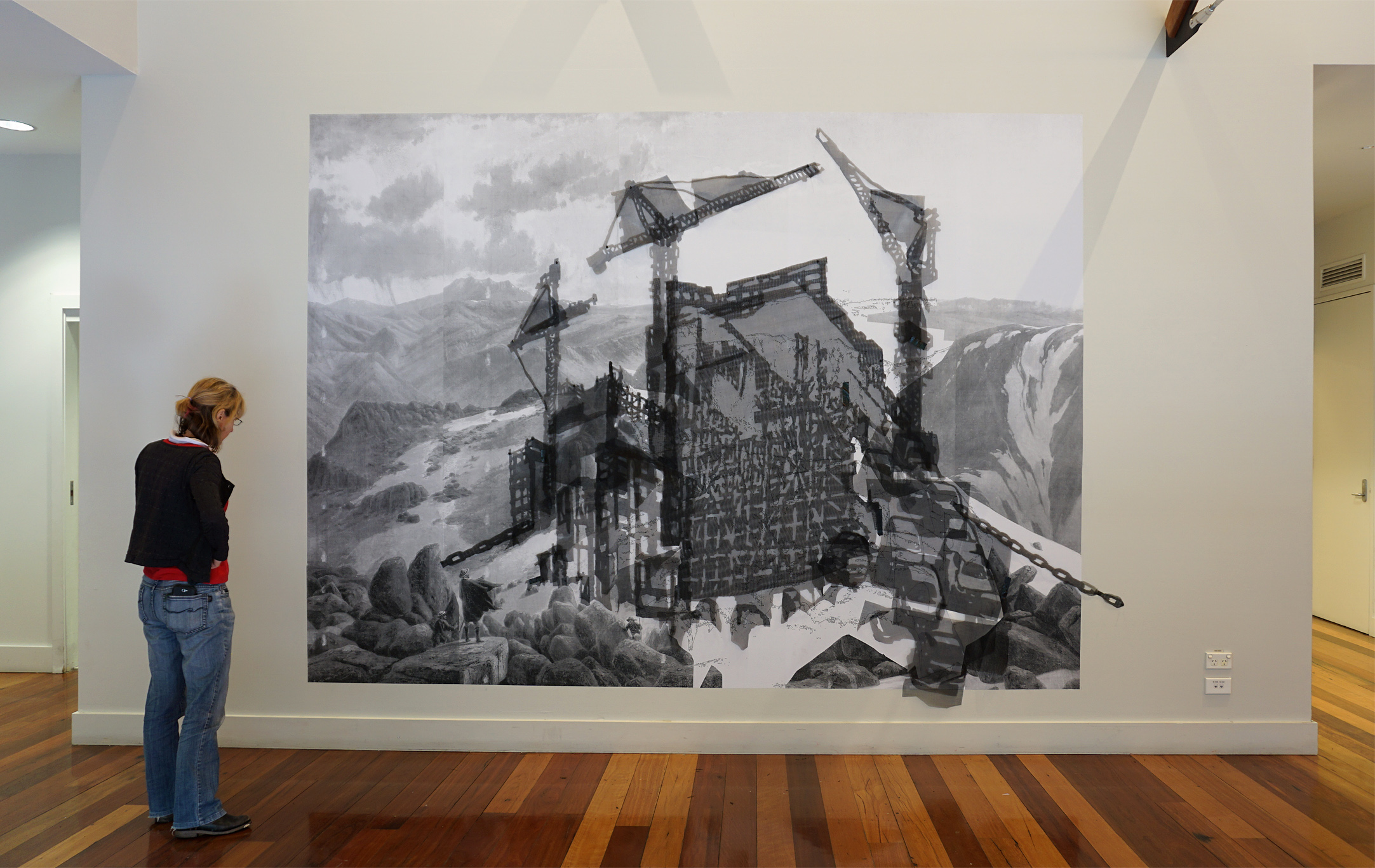 Proposition for a Panorama… Hazelhurst Art on Paper